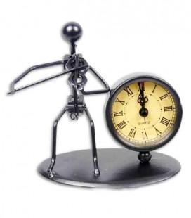 SML Violinist Stattuete Clock