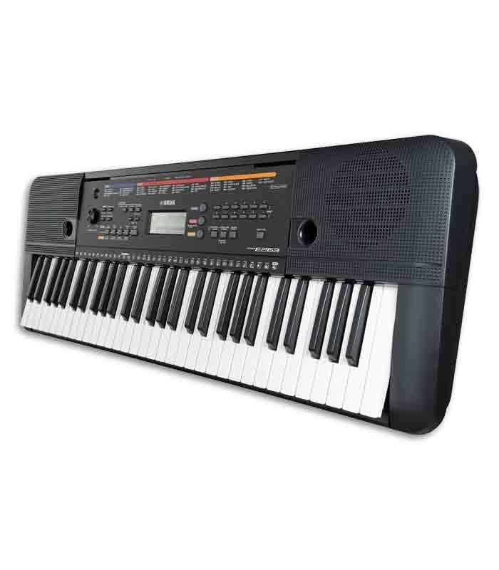 portable keyboard yamaha psr e263 61 keys with power supply. Black Bedroom Furniture Sets. Home Design Ideas