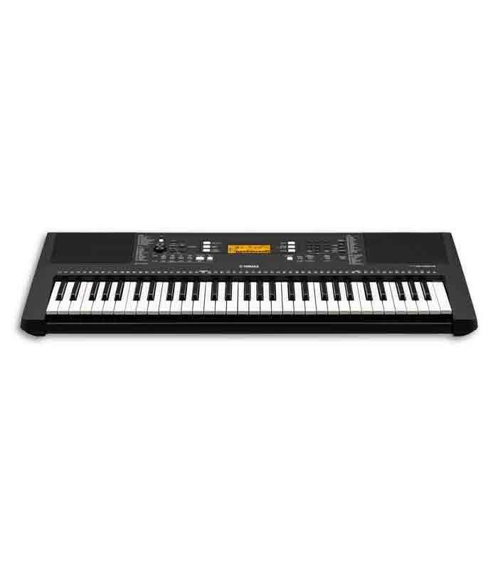 yamaha portable keyboard psr e363 61 keys with power supply. Black Bedroom Furniture Sets. Home Design Ideas