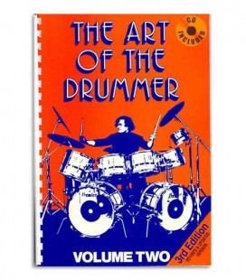 Libro Music Sales JV60282 Art of the Drummer Volume 2 con CD