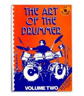 Livro Music Sales JV60036 Art of the Drummer Volume 2