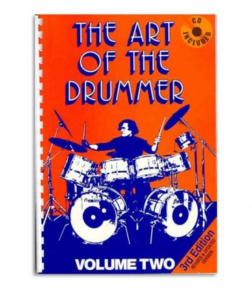 Music Sales Book Art of the Drummer Volume 2 JV60282 with CD