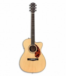 Guitarra Eletroacústica Fender PM 3CE Paramount Limited Triple O Natural com Estojo