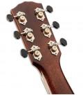 Guitarra Eletroacústica Fender PM 3CE Paramount Limited Triple O Natural com Estojo