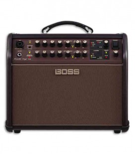 3/4 photo of amp Boss ACSLIVE 60W Acoustic Singer Live