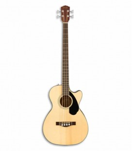 Guitarra Bajo Electroacústica Fender CB 60SCE Dreadnought Natural