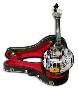 Miniatura de Guitarra Portuguesa CNM Tranvía 547 con Estuche