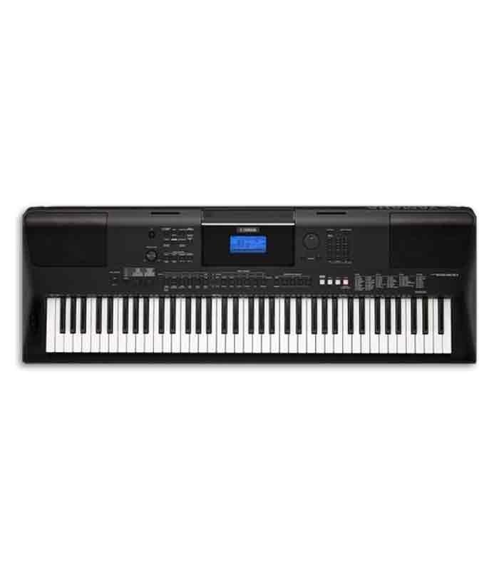 yamaha portable keyboard psr ew400 76 keys with ac adaptor. Black Bedroom Furniture Sets. Home Design Ideas