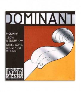 Cuerda Individual Thomastik Dominant 130 Mi para Violín