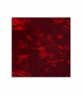 Guarda Unhas Ortolá 7495 14 x 14 cm Imitação Nácar Vermelho