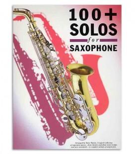 Livro Music Sales AM90025 100+ Solos para Saxofone