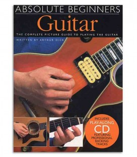 Livro Music Sales AM92615 Absolute Beginners Guitar Book CD