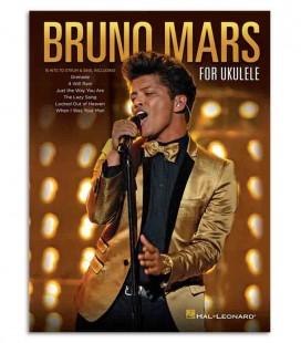 Livro Music Sales HL00125527 Bruno Mars para Ukulele