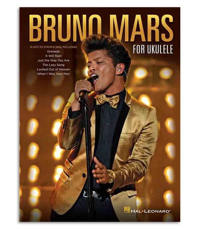 Music Sales Book HL00125527 Bruno Mars for Ukulele