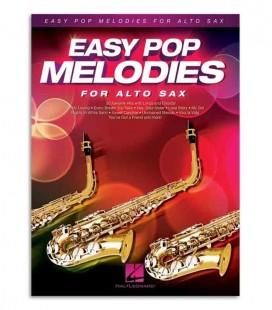Libro Music Sales HL00125786 Easy Pop Melodies Sax Alto