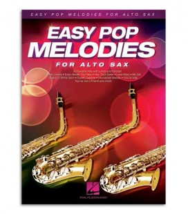 Music Sales Book HL00125786 Easy Pop Melodies Sax Alto