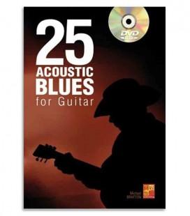 Livro Music Sales ME0277 25 Acoustic Blues for Guitar