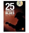 Livro 25 Acoustic Blues for Guitar ME0277
