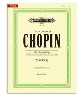Livro Edition Peters EP7575 Chopin Valsas