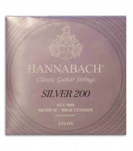 Hannabach Classical Guitar String Set E900 MHT Nylon Medium High Tension