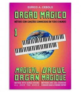Libro Eurico Cebolo OM 1 Método Órgão Mágico 1