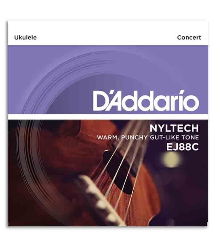 Juego de Cuerdas Daddário EJ88C para Ukelele Concierto