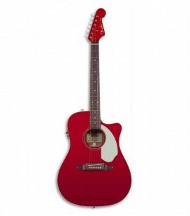 Guitarra Electroacústica Fender Sonoran SCE  Candy Apple Red