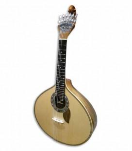 Guitarra Portuguesa Artimúsica Modelo 70740 Lisboa Luxo Nogueira Especial Envelhecida