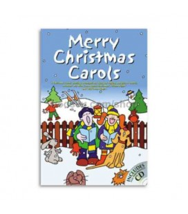 Music Sales Book Merry Christmas Carols Book CD CH65406