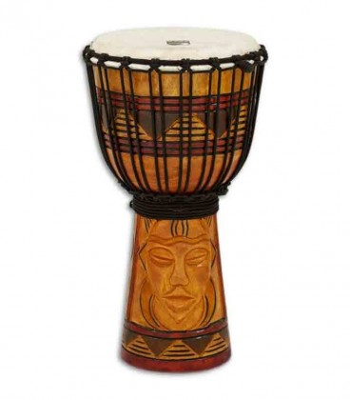 Toca Percussion Djembe TODJ 8TM Origin Series Wood Rope Tuned