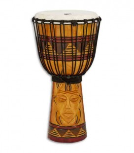 Toca Percussion Djembe TODJ 10TM Origin Series Wood Rope Tuned