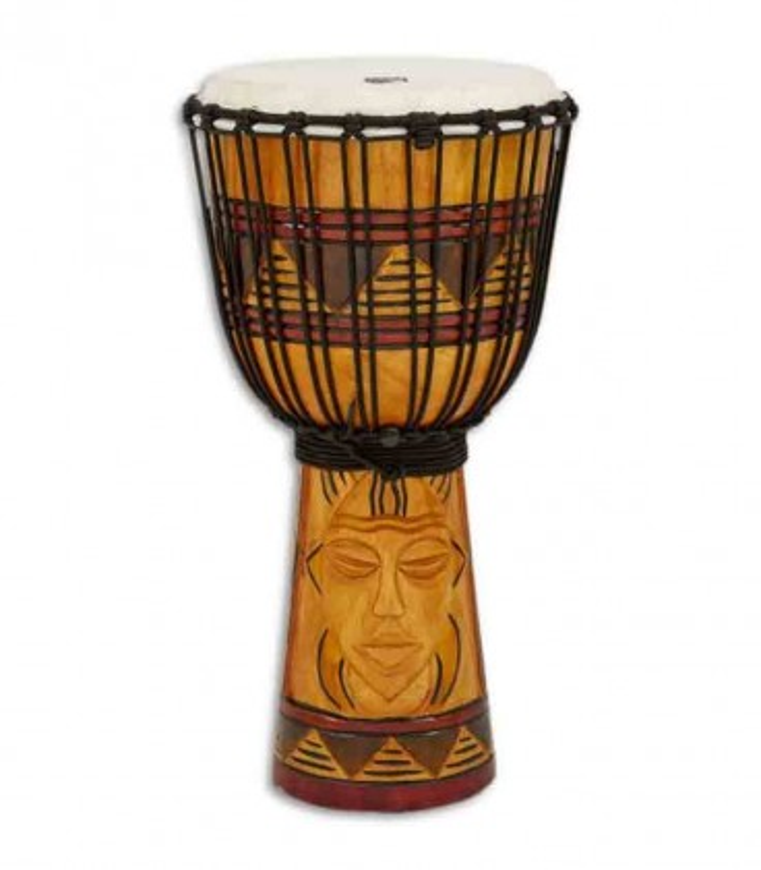 Toca Percussion Djembe TODJ 10TM Origin Series Wood Rope Tuned