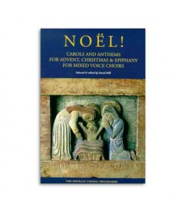 Libro Music Sales NOV310800 Noël para Voz