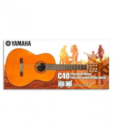 Yamaha Classical Guitar Pack C-40 with bag and Tuner