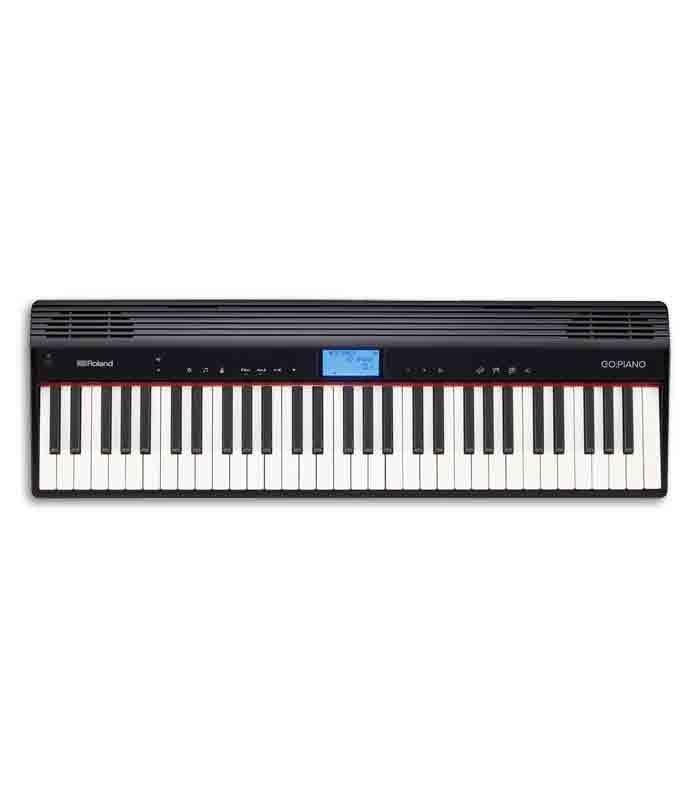 Roland 61 Keys Keyboard Go Piano Black