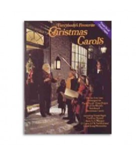 Music Sales Book Everybodys Favourite Christmas Carols AM16643