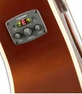 Guitarra Eletroacústica Fender California Newporter Player RSC Rustic Copper