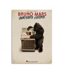 Livro Music Sales HL00117747 Bruno Mars Unurthodox Jukebox