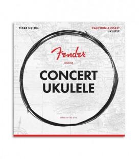 Jogo de Cordas Fender para Ukulele Concerto