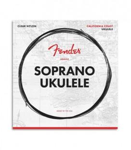 Jogo de Cordas Fender para Ukulele Soprano