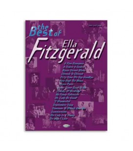 Libro Music Sales ML2430 The Best of Ella Fitzgerald