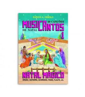 Libro Eurico Cebolo MUS1 Método Musicantos Natal 1 con CD
