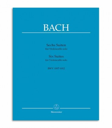 Book 6 Suites for Cello Solo BWV 1007 1012