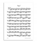 Amostra de página do livro Bach 6 Suítes para Violoncelo Solo