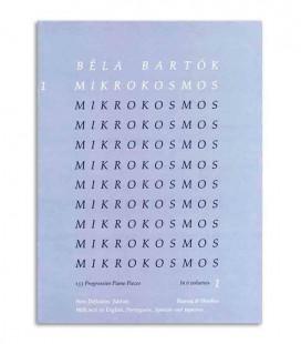 Livro Béla Bartók Mikrokosmos Vol 1 BOH21080