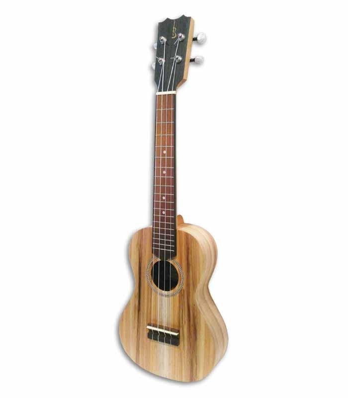 Foto a 3/4 del ukulele APC CS