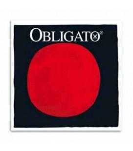 Juego de Cuerdas Pirastro Obligato 411022 para Violín 4/4 con Bola