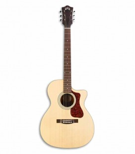 Guild Electroacoustic Guitar OM240CE Orchestra Cutaway Natural Spruce Mahogany with Bag