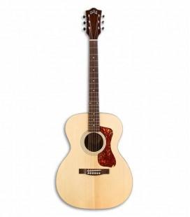 Guitarra Eletroacústica Guild OM240E Orchestra Natural Spruce e Mogno com Saco