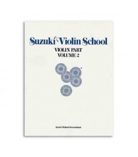 Libro Suzuki Violin School Volume 2 com CD ALF28263